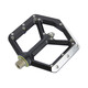 Spank Spike Flat Pedals black